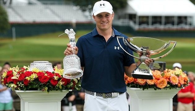 fedexcupWINSpieth2015