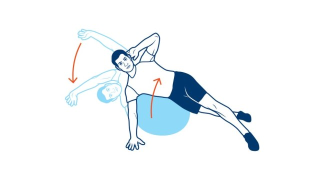 back-exercises-for-golfers-side-stretch-and-crunch