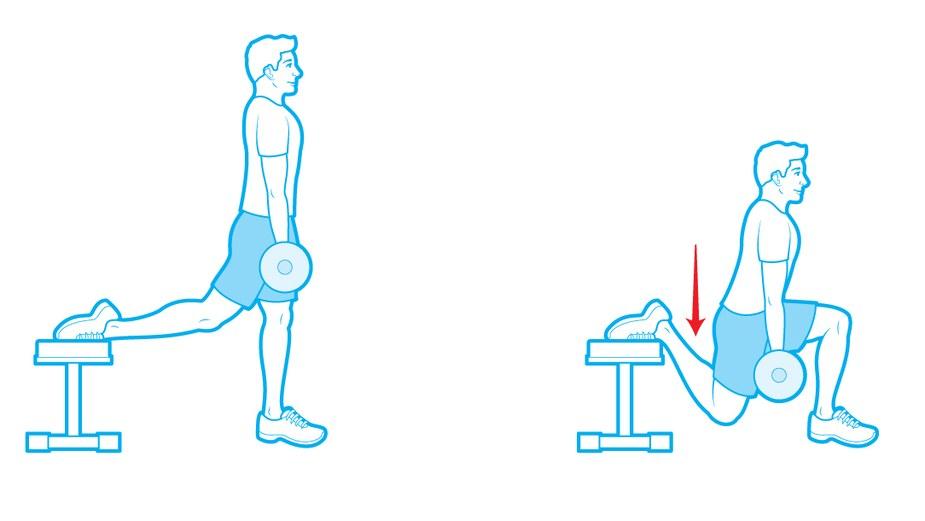 strength-exercises-bulgarian-split-squat