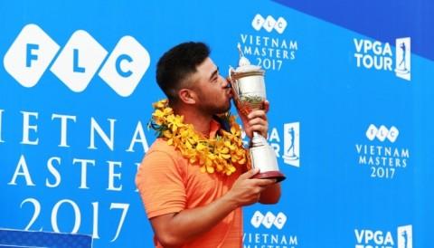 Golfer Việt Kiều Andy Chu đăng quang giải FLC Vietnam Masters 2017