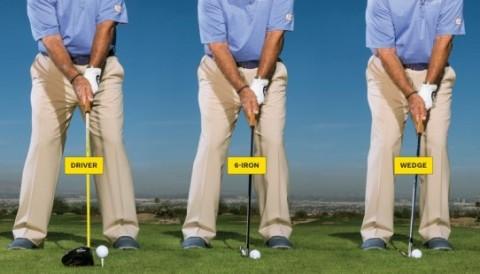 Tư thế setup: bí quyết giữ bóng nguyên một vị trí cho mọi loại gậy golf