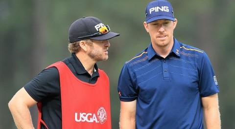 [Luật 15-3] Hai golfer hàng đầu thế giới ...đánh nhầm bóng của nhau