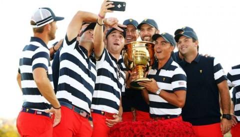 Tuyển Mỹ có chiến thắng thứ 10 ở Presidents Cup