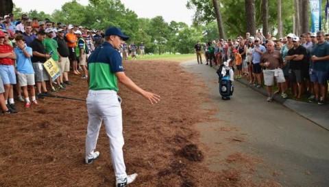 PGA Championship 2017: Jordan Spieth quá tỉnh táo trong xử lý tình huống luật Free Drop