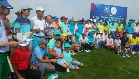 EVGA TOUR 2017: Golfer Giang Thành vô địch bảng Nam giải Ba Lan Mở Rộng