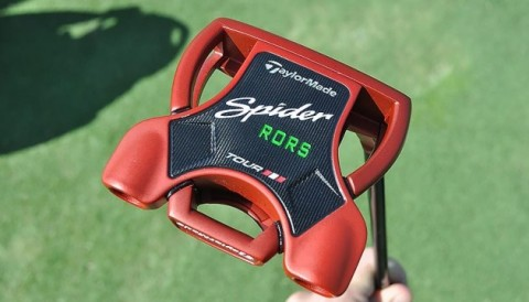 Rory McIlroy ra mắt gậy putter TaylorMade Spider