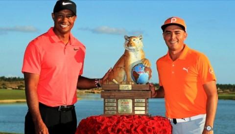 Rickie Fowler vô địch Hero World sau vòng đấu đánh 61 gậy - Tiger Woods xuất sắc về T9