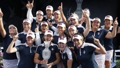 Tuyển Mỹ vô địch Solheim Cup sau khi đánh bại tuyển châu Âu với tỷ số 16 1/2 - 11 1/2