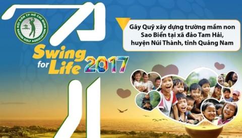 Thông cáo báo chí giải golf từ thiện SWING FOR LIFE lần thứ 18 năm 2017