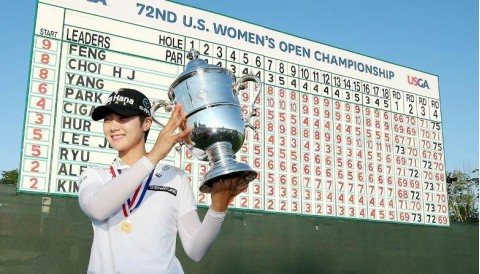 Sung Huyn Park đăng quang US Womens Open 2017