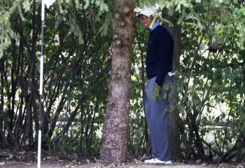 Điều chỉnh luật sau khi Tiger Woods bị phạt '2 gậy' tại BMW Championship