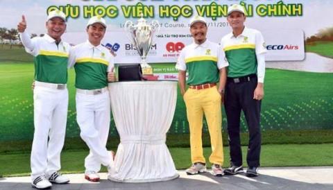 Bách - Kinh - Xây - Tài tranh bá ở giải golf Tứ Hùng