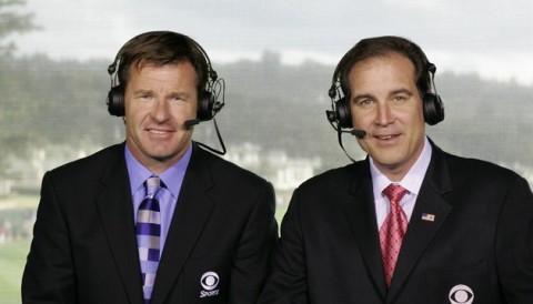 Nick Faldo châm biếm Greg Norman khi nói mấy tay bình luận golf quá nhàm chán