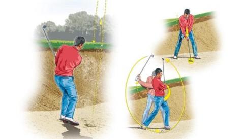 Thoát bóng dễ dàng ở bunker sâu
