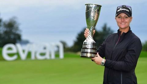 Anna Nordqvist có danh hiệu Major thứ 2 khi đăng quang giải Evian Championship