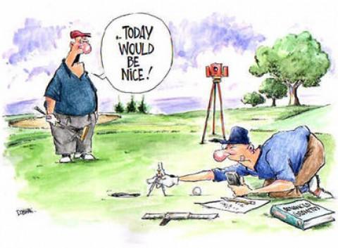 [Luật Golf] 10 trường hợp bóng có thể hoặc phải đánh lại mà không bị phạt gậy