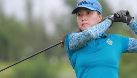 Vòng 1 Bảng A VĐQG Nữ: Golfer Nguyễn Thị Vân Anh tạm thời dẫn đầu bảng xếp hạng