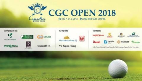 CGC Open 2018 hội tụ nhiều tay golf xuất sắc của tuyển VGA Union Cup