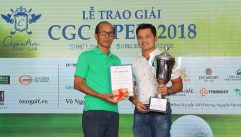 Golfer Thái Trung Hiếu vô địch giải CGC Open 2018