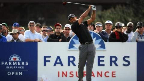 Tiger Woods thi đấu cùng nhóm với Reed, Hoffman tại Farmers Insurance Open 2018