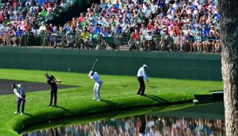 Ngày tập luyện thứ hai ở Augusta: Tiger Woods lần đầu đấu tập cùng Phil Mickelson