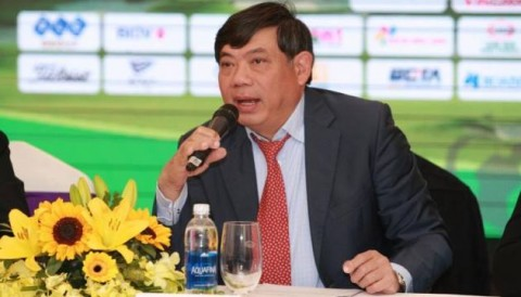 Phó TTK VGA Ông Phạm Thành Trí công bố 8 giải golf chuyên nghiệp trong năm 2018