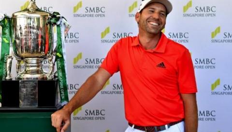 Sergio Garcia trở lại Đông Nam Á bằng chiến thắng giải SMBC Singapore