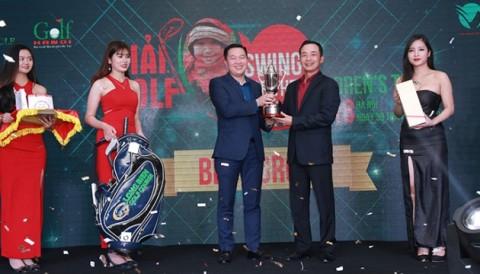 Golfer Lê Hùng Nam lần thứ 2 vô địch Swing For Childrens Tet - Hơn 2 tỷ đồng tiền từ thiện được quyên góp