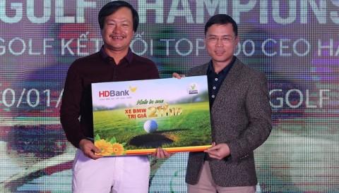 Golfer nhận HIO 2 tỷ giải Vietnam Top 500 CEO từ thiện nóng 200 triệu