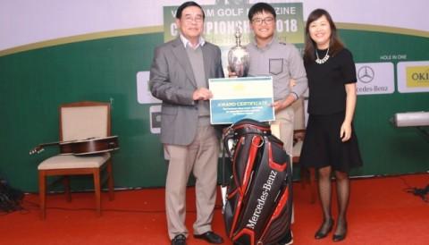 Golfer 13 tuổi vô địch Vietnam Golf Magazine Championship 2018