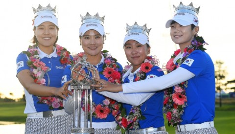 Hàn Quốc vượt qua Mỹ để đăng quang tại UL International Crown