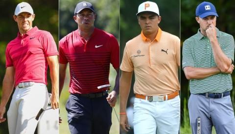 Khó khăn phía trước cho Rory Mcllroy, Tiger Woods, Rickie Fowler và Jordan Speith