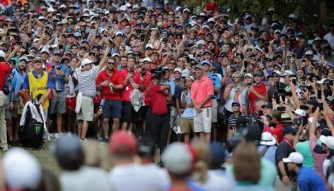PGA Championship 2018: Tiger Woods khiến lượng người xem giải tăng khủng khiếp