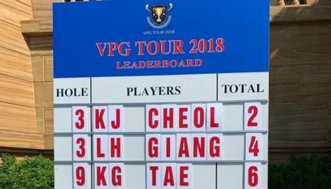 Golfer bị phạt 2 gậy do nghe bạn chơi tư vấn sai luật tại giải CN Việt Nam