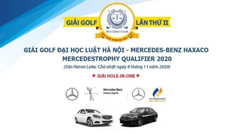 Giải HLU Golf 2020: 10 golfer có cơ hội tham dự VCK MercedesTrophy Vietnam
