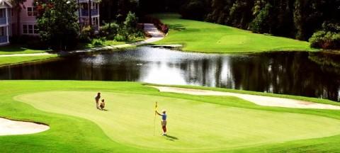 Bẫy nước khi chơi Golf
