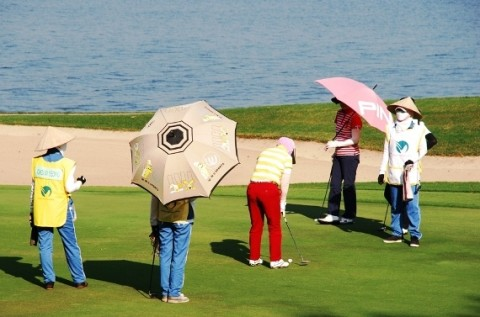 Khai mạc giải vô địch Golf Nữ Quốc gia mở rộng 2012