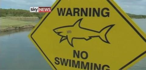 Hồ cá mập ở sân golf Australia