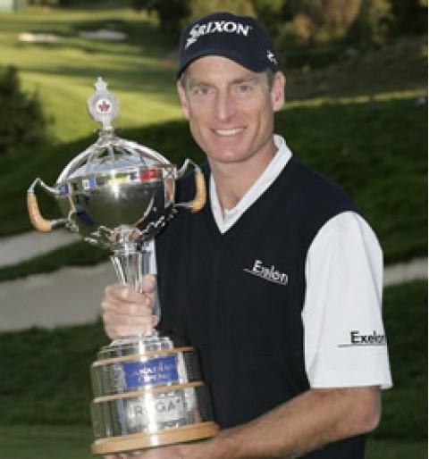 Harrington thất bại trước Jim Furyk ở vòng playoff tại giải PGA Grand Slam
