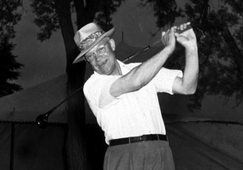 Tổng thống Eisenhower và niềm đam mê golf