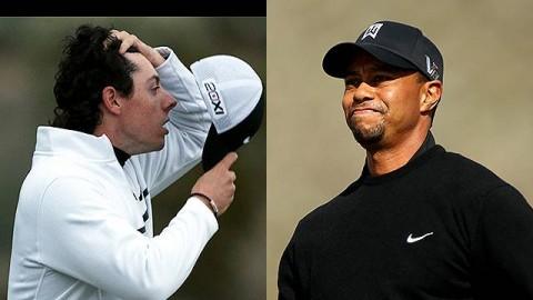 Tiger Woods lẫn Rory McIlroy thua sốc tại vòng 1 WGC Accenture