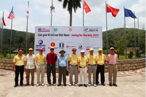 Giải golf từ thiện vì trẻ em nghèo