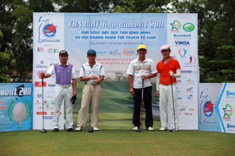 Giải golf từ thiện thường niên của Hội Doanh Nhân Trẻ TP.HCM